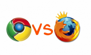 Google Chrome против Firefox